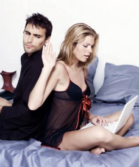 Секс по интернету это измена