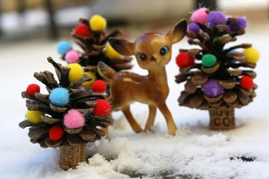 Поделки новогодние игрушки своими руками в школу