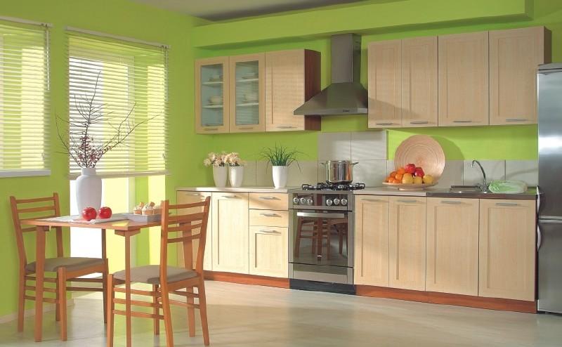 Цвет кухни сочетание