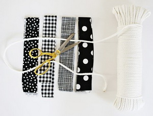 Как сделать коврик из шнура