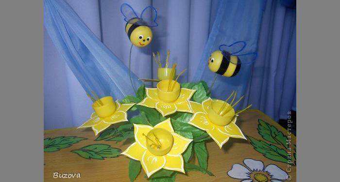 Поделки своими руками из киндер сюрпризов для детского сада